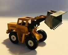 Die cast scale model yellow loader