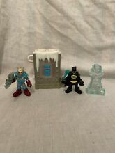 Imaginext mr freeze chamber and