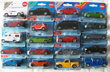 Blister carded miniature cars multi