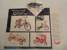 1962 paper ad amf toy s scat jet