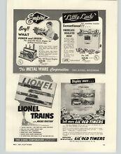 1954 paper ad empire toy steam