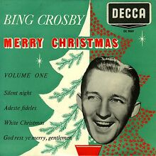 Crosby vinyl 7 merry christmas