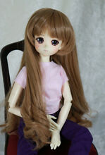 1 4 7 8 bjd doll wig msd dark blond