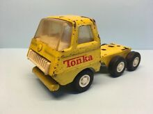 Tonka truck in yellow good used