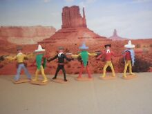 Messicani cowboys toys soldatini