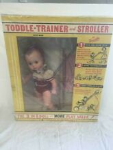 Toddle trainer and stroller baby