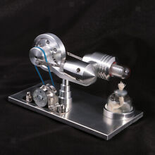 Hot air stirling motor engine
