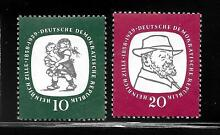 Germany ddr sc 381 382 mint never