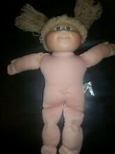 Cabbage patch doll one owner birth