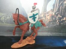 Knights medievale a cavallo