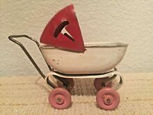 Doll baby buggy carriage 1930s
