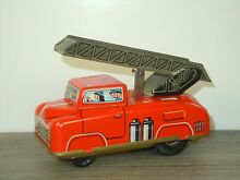 Fire truck tinplate made western y