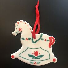 Ceramic christmas ornament by russ