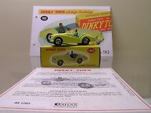 Dinky toys 105 triumph tr2 yellow