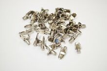 12 x 5mm metal shelf studs supports