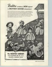 1964 paper ad toy mother goose