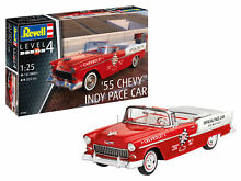 55 chevy indy pace car model set 1