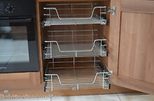 Pull out wire baskets kitchen