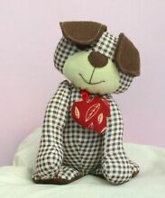 Harris puppy soft toy sewing