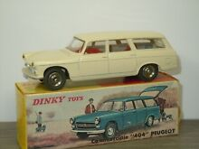 Peugeot 404 commerciale dinky toys