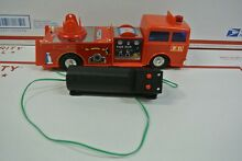 Mint battery operated fire truck