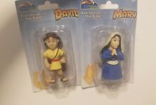 Bible toys mary and david figures
