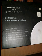 Gordon ramsay maze royal doulton