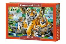 Castorland 1000 piece tigers by the
