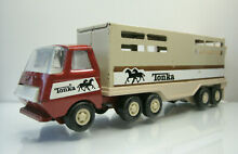 Tonka horse trailer truck in red