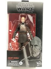The black series count dooku 6 inch