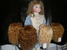 Wig mohair for doll t9 32cm france