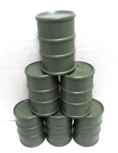 G scale oil drums military army