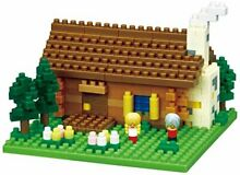Nano block swiss mountain hut nbh