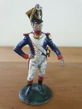 French line officer sculpted by