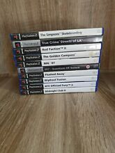 Playstation 2 10 game bundle
