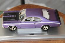 Plymouth duster 1971 purple
