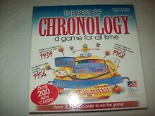 Best of chronology a game for all