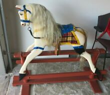 Roebuck ride on wooden collectables