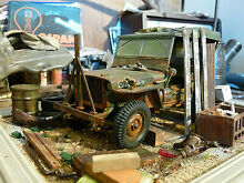 Willys jeep us army bj 1945