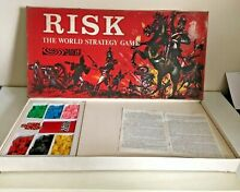 Board game 1963 parker instructions