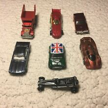 Hot wheels 6 y dragster lote