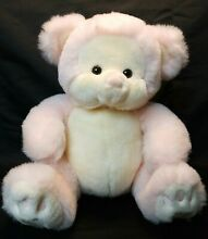 12 pink puffums teddy bear by plush