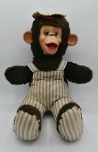 Rubber faced monkey stuffed animal
