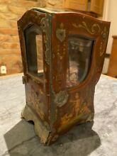 French tole sedan chair and french