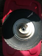 Front tire 15x6 00 6 turf saver