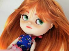 Doll custom makeup matte face and