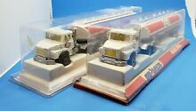 Pair of diecast esso gas fuel