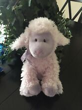 12 purple lilac lamb sheep plush