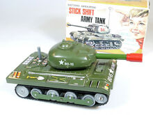 Toys t n stick shift army tanque