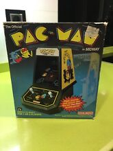 Tabletop pacman game watch